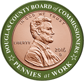Douglas County Board of Commissioners Pennies at Work